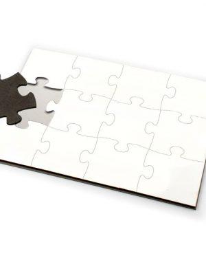 Puzzle A5 MDF 12 dílků