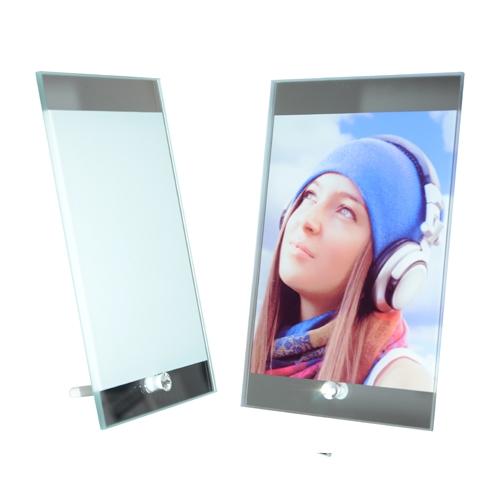 Rámeček skleněný 15x23 cm