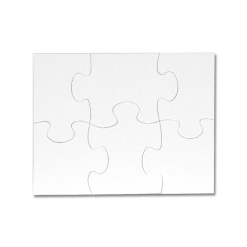 Puzzle A5 dětské 6 dílků