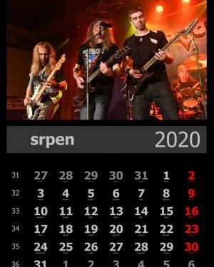 Kalendář A4 – vzor 2
