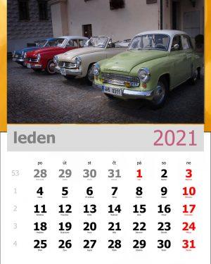 Kalendář A4 – vzor 3