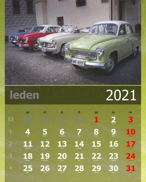 Kalendář A4 – vzor 4