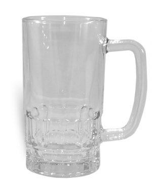 Skleněný pivní půllitr