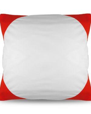 Povlak na polštář FUNKY s potiskem červený 40×40 cm
