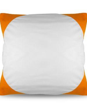 Povlak na polštář FUNKY s potiskem oranžový 40×40 cm