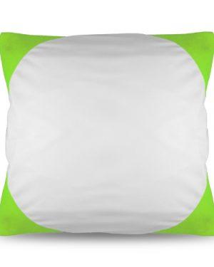 Povlak na polštář FUNKY s potiskem sv. zelený 40×40 cm