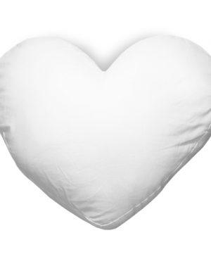 Povlak na polštář, srdce, 40×35 cm